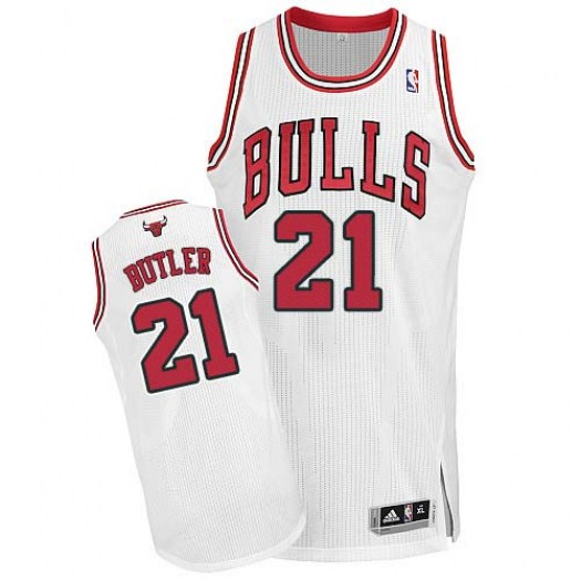 Youth Jimmy Butler Chicago Bulls Adidas Authentic White Home Jersey